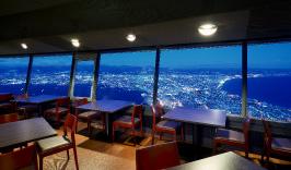 夜景の見えるレストラン