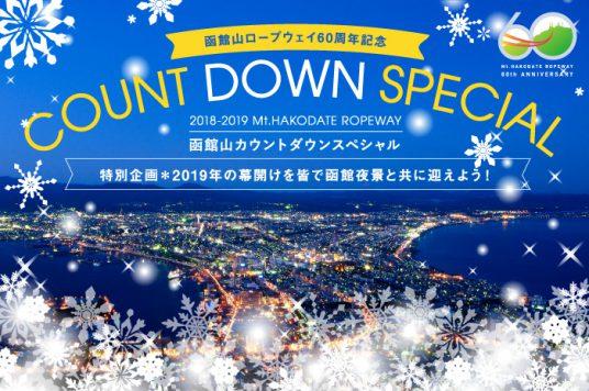 2018-2019函館山カウントダウンスペシャル