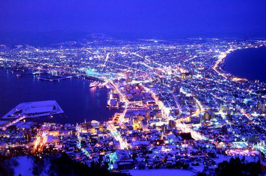 函館夜景(冬)