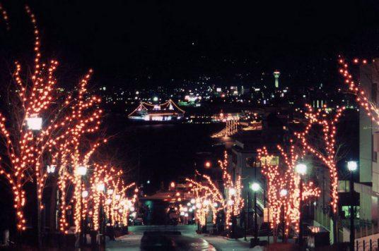 八幡坂(イルミネーション)